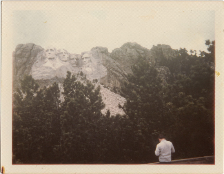 Mt. Rushmore, Black Hills, June 1975,