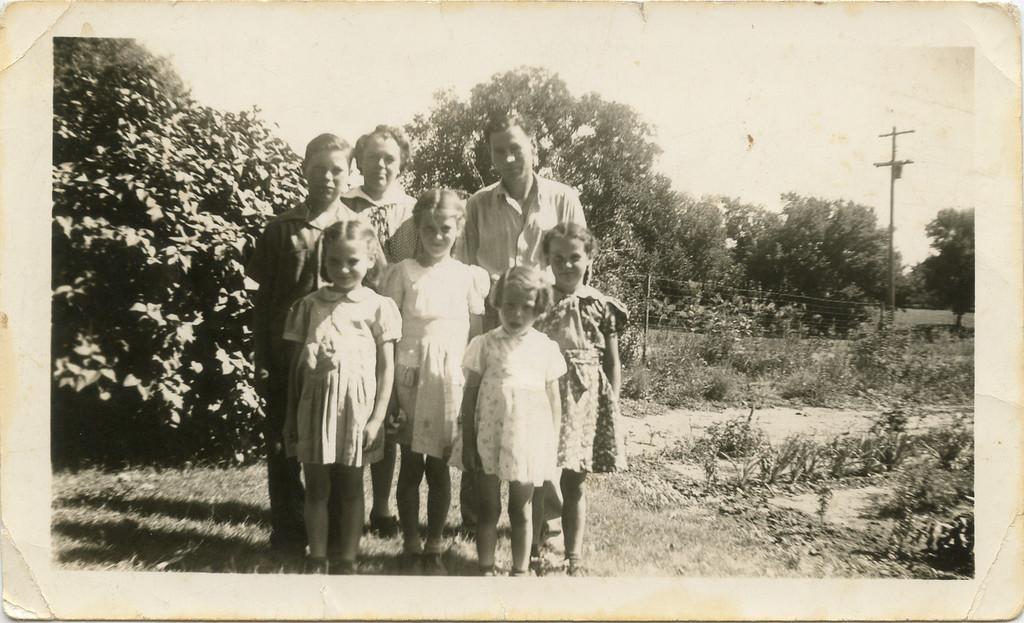 Before leaving N. Dakota in 1941.