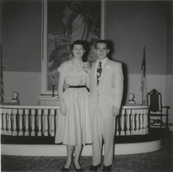 Beverly and Fred Nov. 28, 1953.
