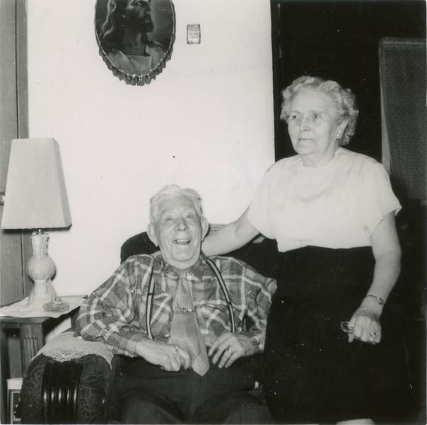 Grandma and Frank 1955.