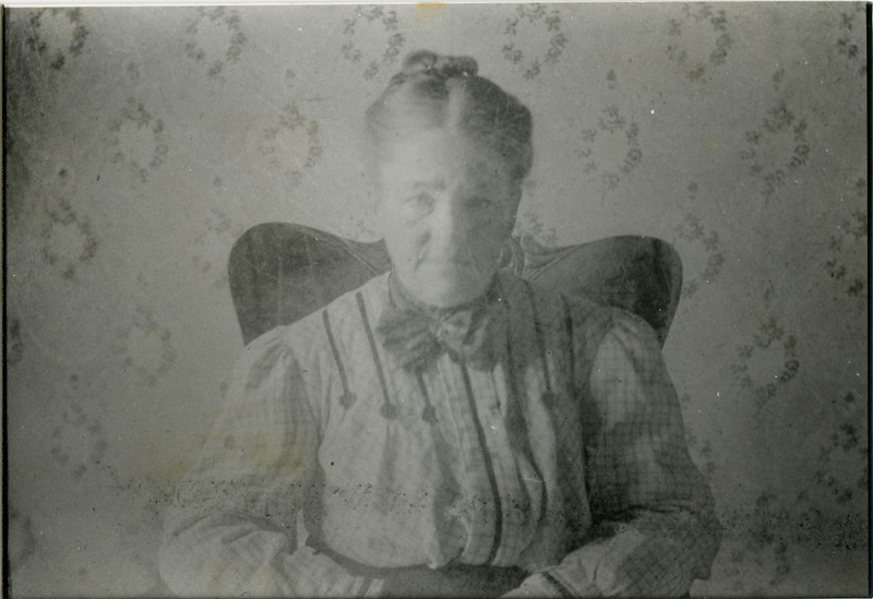 Grandma Boulds, Bill's Mom, in early 1900,