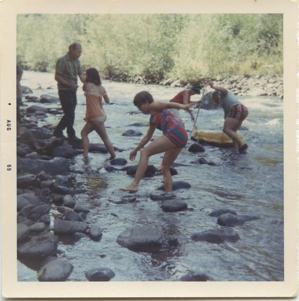 Camping at Grey Wolf Aug 1969.