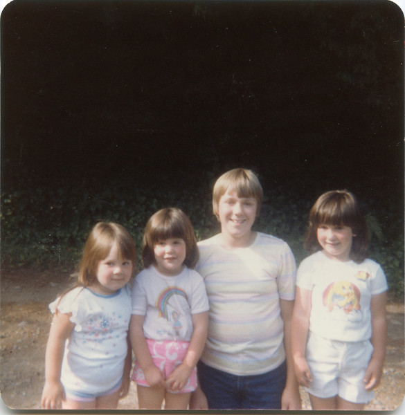 Tiffeny, Jenny, Suzzie and Beth.