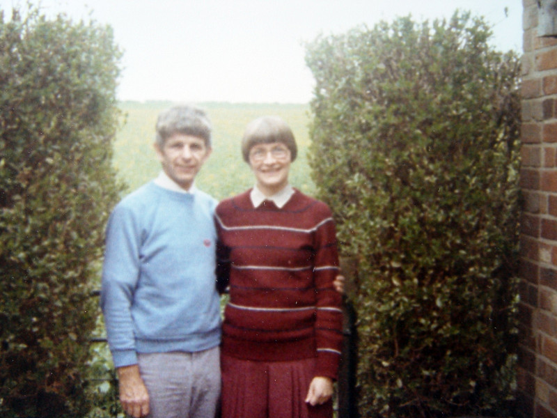 Mum & Dad<br /> Last Photo at 161 <br /> Rippingale 1985
