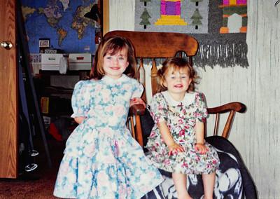 Oregon & Janes Visit 1993