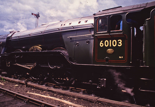 20 The Flying Scottsman - Nene Valley Railway 1994