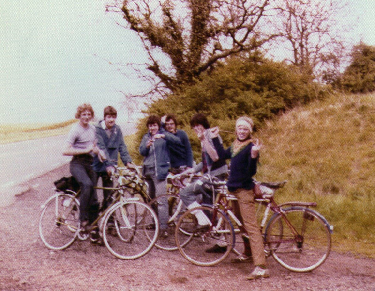 In search of Paul & Ed (on a secret Scout Mission in 1979) <br /> L-R: Perkins, Dud, Denham, Tiz, Elliot & Wilson.