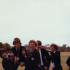 Last few days of School (5th Form) July 1980<br /> Denham, Meach, Perkins, Reed & Tiz.