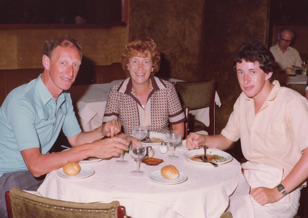 David,Una and Pete
