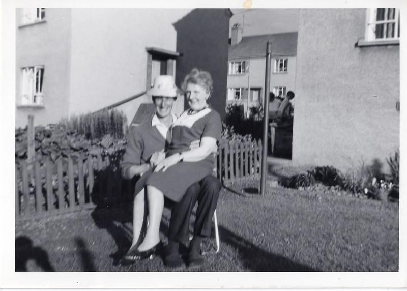 David and his mum
