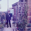 George Heading off to Bourne Grammar School<br /> Rippingale 1980