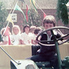 Look at that handsome young tractor driver<br /> Rippingale Fete 1976