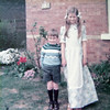 George & Jane<br /> Front Garden 1976