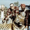 Pritam phuphajee (second from right) along with his American hunting buddies