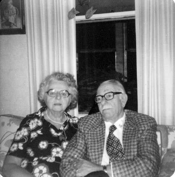 Gertrude Seifert and husband Tony. I don't know her married name yet.