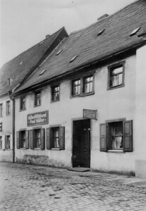 Building where Emil Seifert's Workshop was in Zwickau.