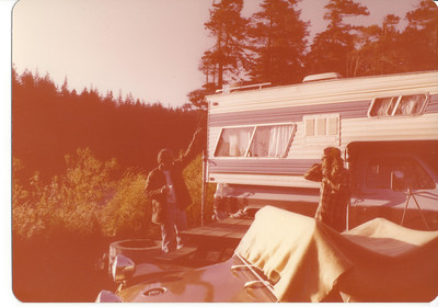Camping somewhere