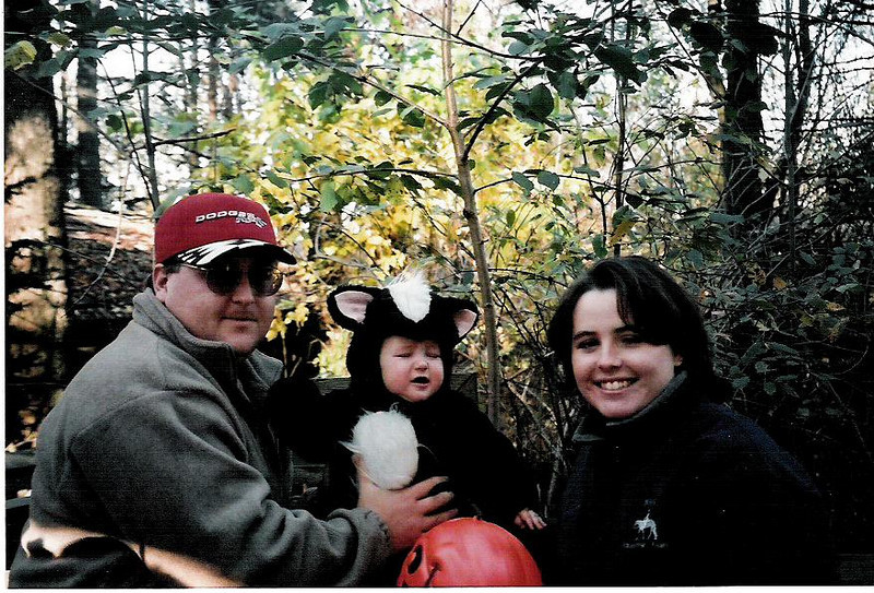 Cole's first Halloween, October, 2000, at the Zoo Boo at Binder Park Zoo.