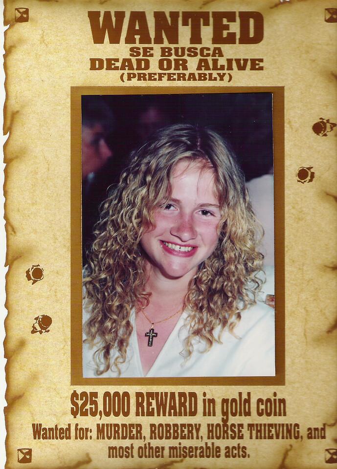 002 Sarah Wanted