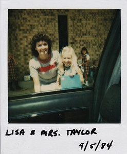 First Day of Preschool 1984