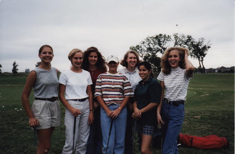 Senior Golf team