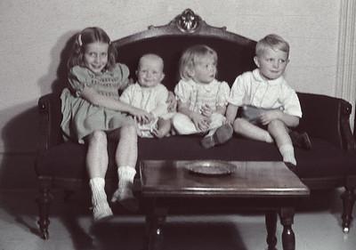 Taflyn, Barbara, Victoria, Julian Sale (1940, 1947, 1945, 1943)