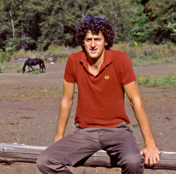 1983, October, Whitman College, Walla Walla, Washington. Charlie Knox.