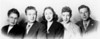 1945 or 46 — Esther, Marcus, Fay, Naphtali, and Abba Knox. St. Paul, Minnesota. I don't think I had a sport-jacket until I was 13, which would haave been 1946.