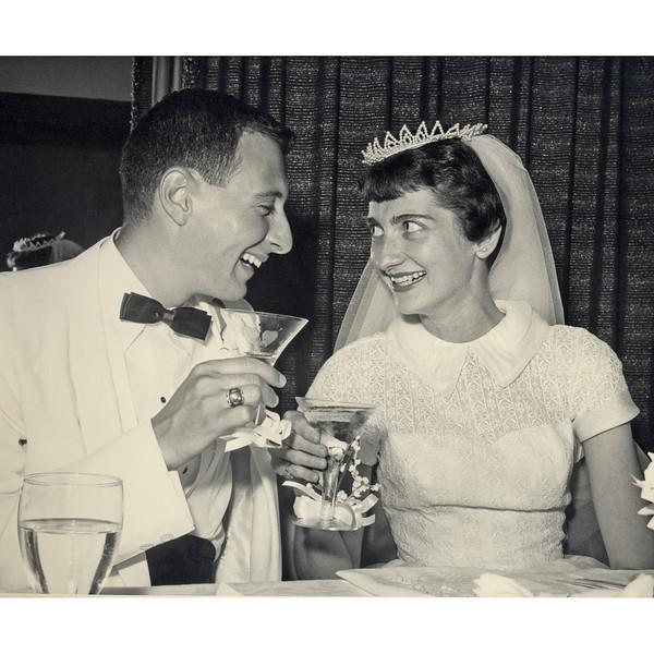 1958, June. Naphtali and Marian Knox, Davenport, Iowa.