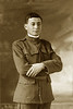 1918. Marcus Knox in US Army uniform, St. Paul, Minnesota.