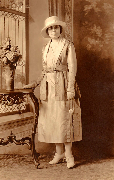 1918, June. Esther Barron, St. Paul, Minnesota.