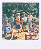From left, Carol, joan, Lorraine, ? and ? in rear left, , Barbara and John, Chris seated at front right.