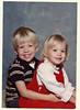 Wes & Lindsay, 1983 Christmas pic