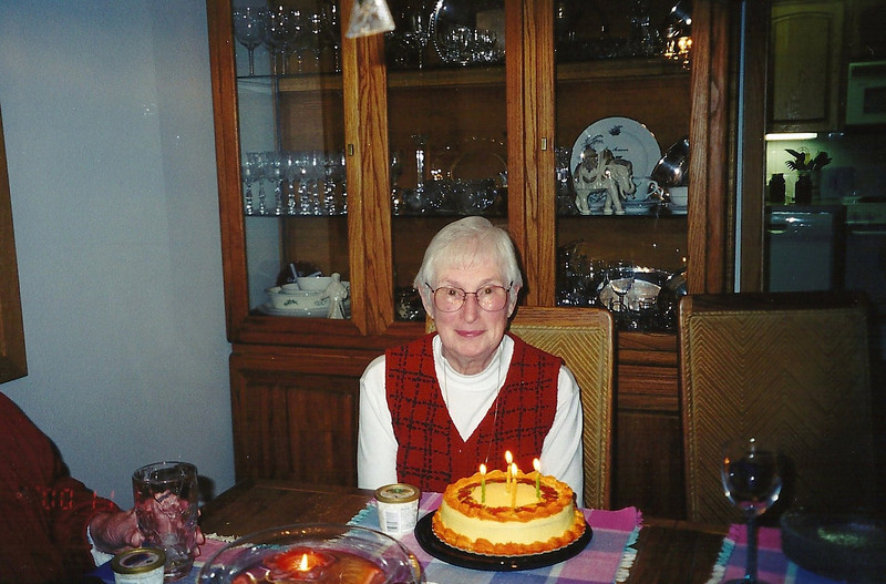 Grandma's birthday, 2000