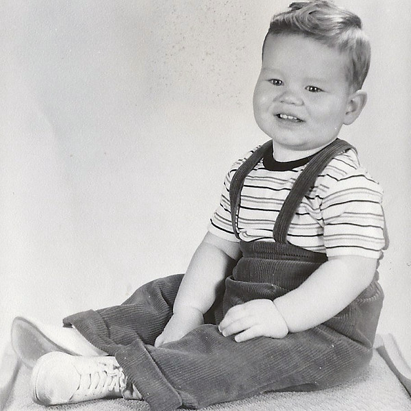 Dad as a toddler