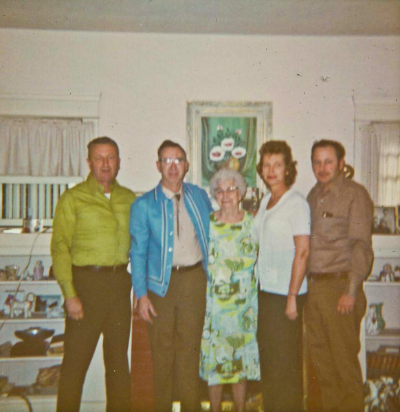 Rod, Ralph, Grandma, Katie, Bob