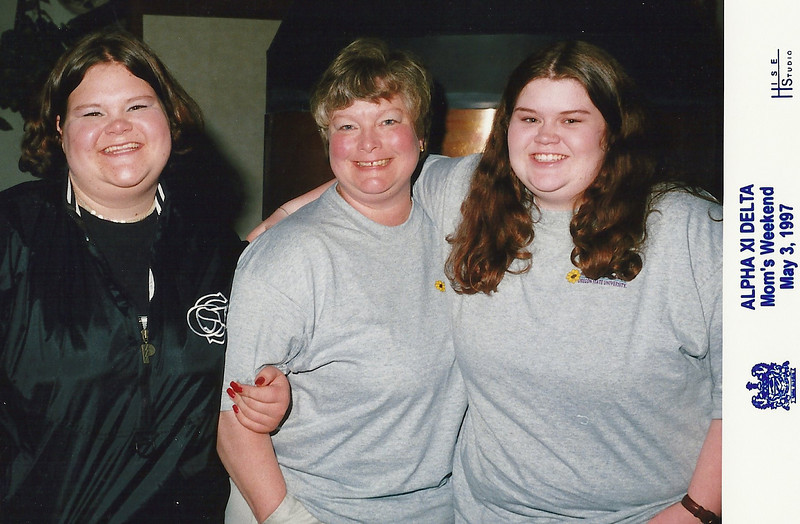 Mom's weekend, 1997, at OSU