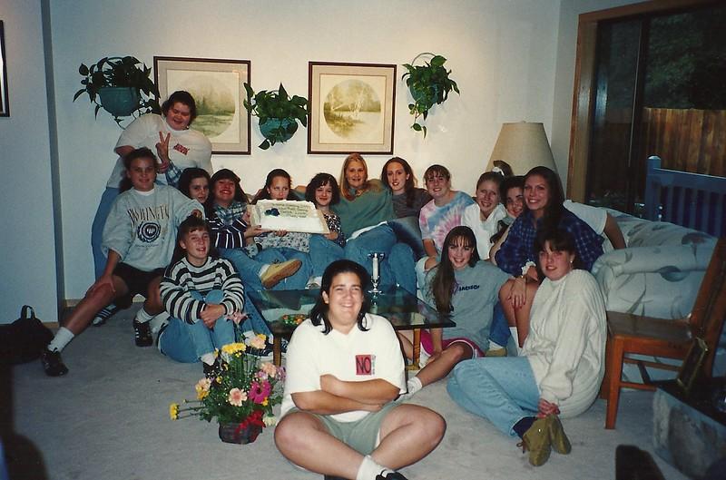 Powderpuff '94, Jr team!