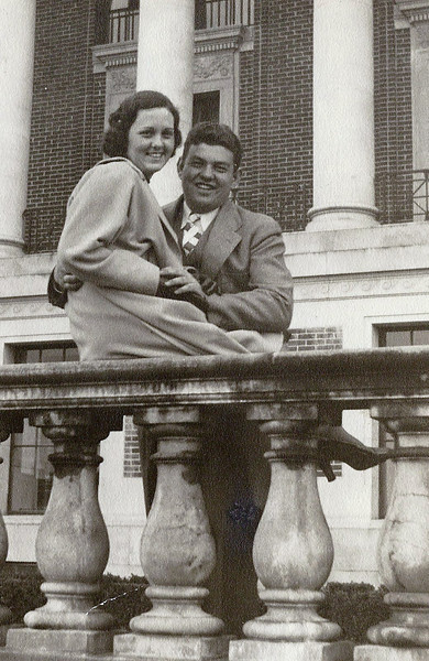 Grandma & Grandpa Waker at the MU.