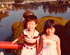 Benz and Eling at the Japanese Garden in Jurong, Singapore.  Benz had a mole right on his nose bridge; it was surgically removed later.  Circa 1979/80.