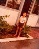 Benz in his old primary school PE uniform, outside dad's old office building in Jurong, Singapore,  Circa 1979/80.