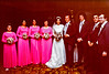 Here's the wedding party.  Niece Celeste Colelli, Katy Woltemate, Hildy Dougherty (at that time), maid of honor Mary Julia Colelli, to my right, best man Brian Dougherty, sporting an 'Iro' (Irish afro), Steve Gigliotti and Jim Rodgers