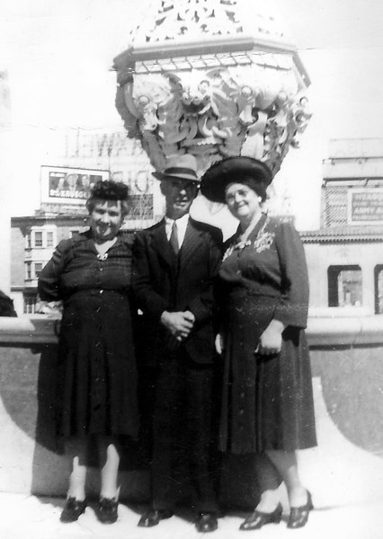 Here's Mary Coyle (my maternal grandmother) with brother John and sister-in-law Mary Jane Kelly Coyle