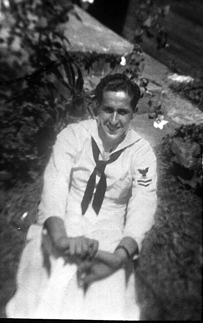 Here's Dad in Navy uniform