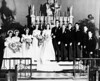 "Wedding of Julia Coyle and Arnold ""Walt"" Woltemate.  My mom is next to the bride.  Bride's father John Coyle to our right of the groom.  Joe Coyle on far right."