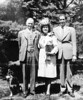 My paternal grandparents, John and Hilda Dougherty, Dad and Spotty at Neshaminy - early 50s?