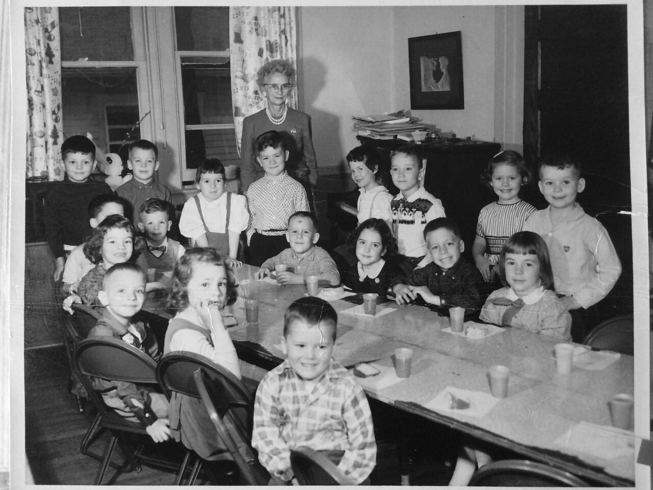 Mrs Baldwin's Kindergarden.