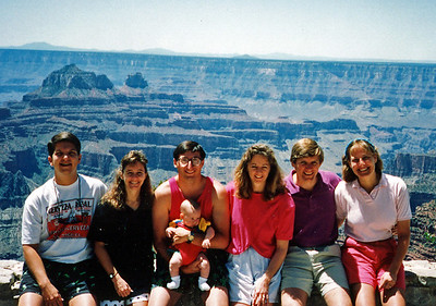 The clan at the Grand Canyon (North Rim)