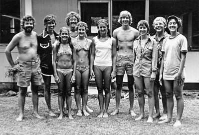 All of us in Hawaii, summer 1976