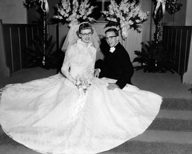 Leon and Merna Wedding 1959